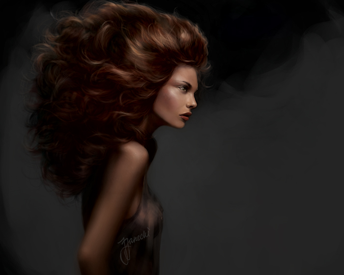 Digital painting 2010